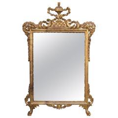 Italian Carver Giltwood Mirror