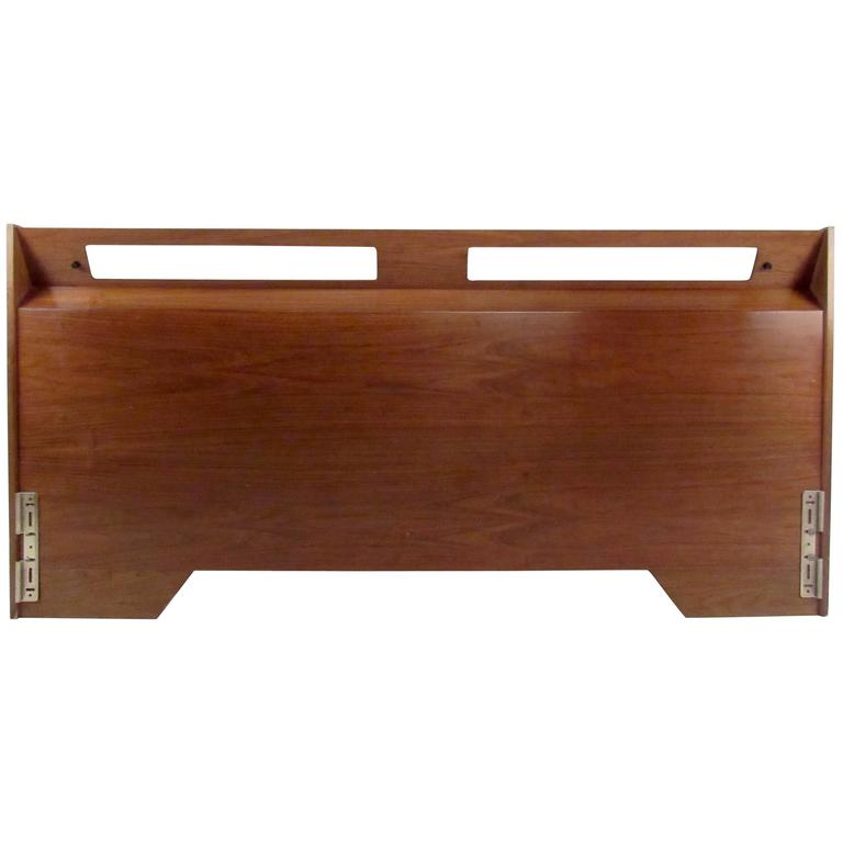Mid-Century King-Size Headboard For Sale