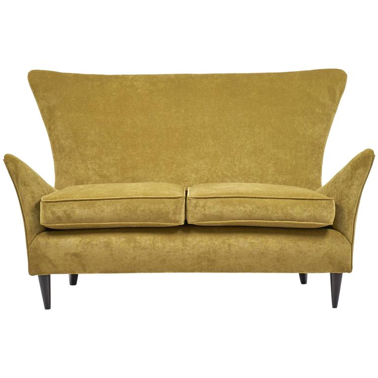 Vintage Italian Sofa Attributed to Gio Ponti