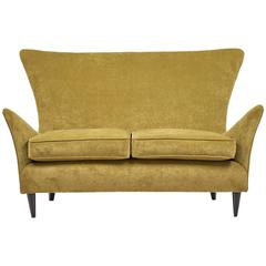 Vintage Italian Sofa Attributed to Gio Ponti