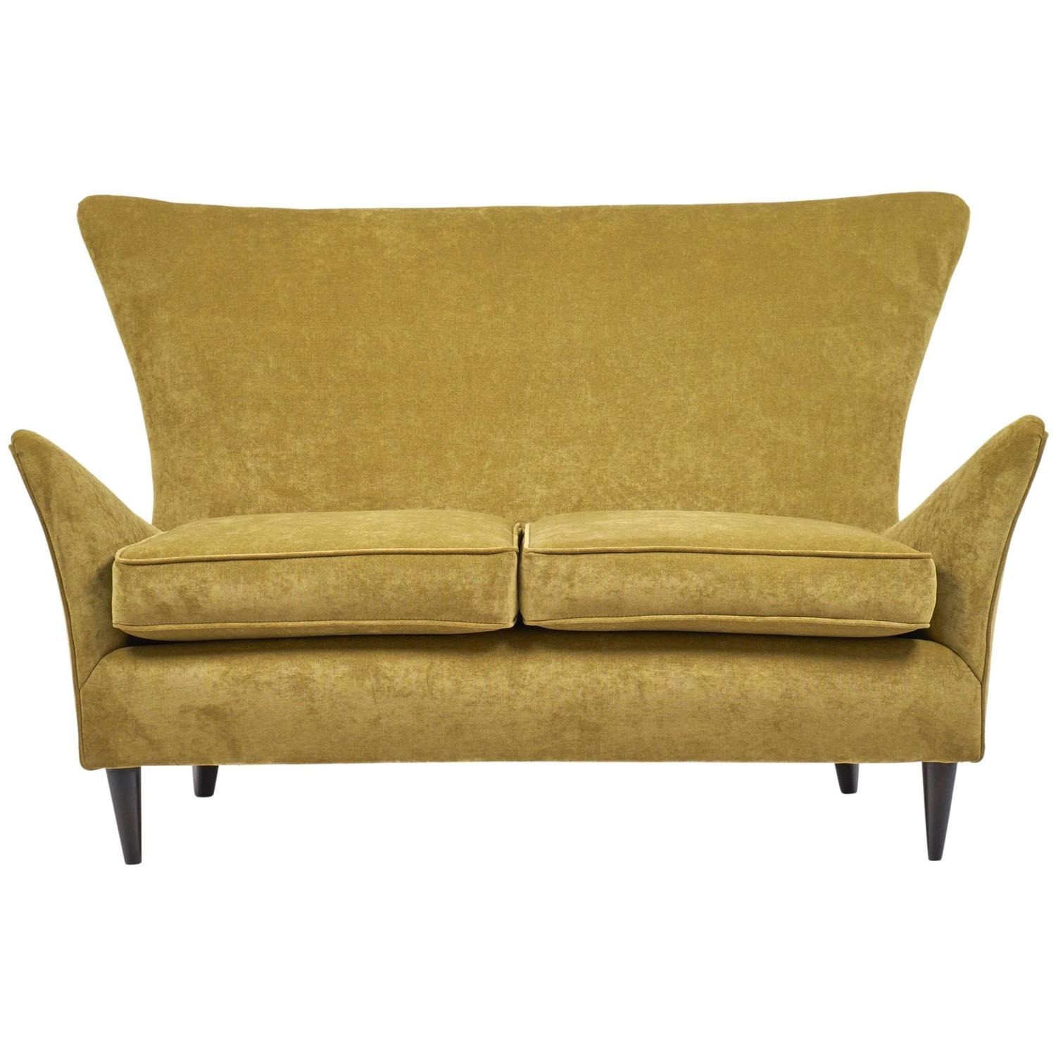 Pleasant Vintage Italian Sofa Attributed To Gio Ponti At 1Stdibs Machost Co Dining Chair Design Ideas Machostcouk