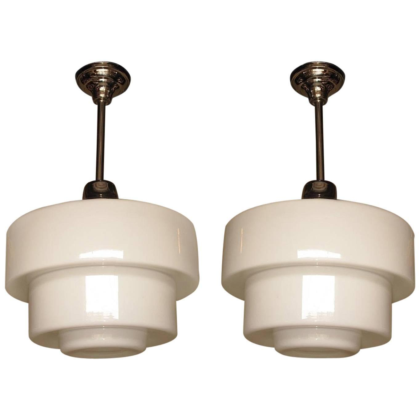 Huge 1920s Schoolhouse Electric Lighting Fixtures At 1stdibs