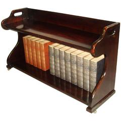 Regency Mahogany Book Carrier, Large