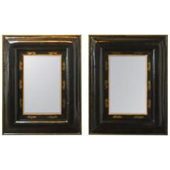 Monumental Pair of Portuguese Style Mirrors