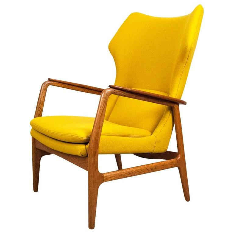 1960s Missoni Wingback Chair At 1stdibs: Aksel Bender Madsen Danish Wing Chair, 1960 At 1stdibs