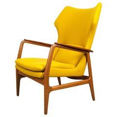 Aksel Bender Madsen Danish Wing Chair, 1960