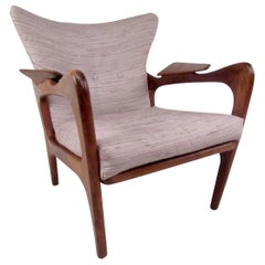 Vintage Wingback Lounge Chair after Adrian Pearsall