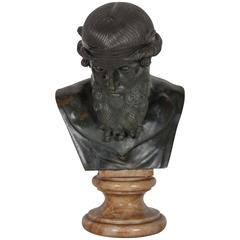 Bronze Bust of Zeus