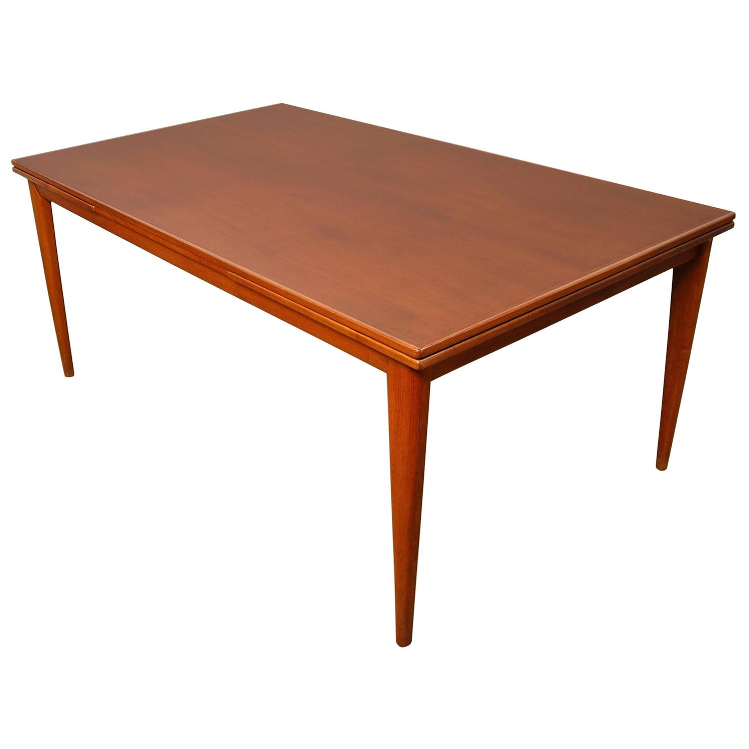 Large Niels Moller Teak Expandable Dining Table Model 12  : 4603843z from www.1stdibs.com size 1500 x 1500 jpeg 54kB