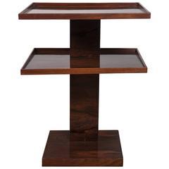 Fine French Moderne Étagère Table