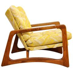 Adrian Pearsall for Craft Associates Lounge Chair, Model 2466-C, 1960s