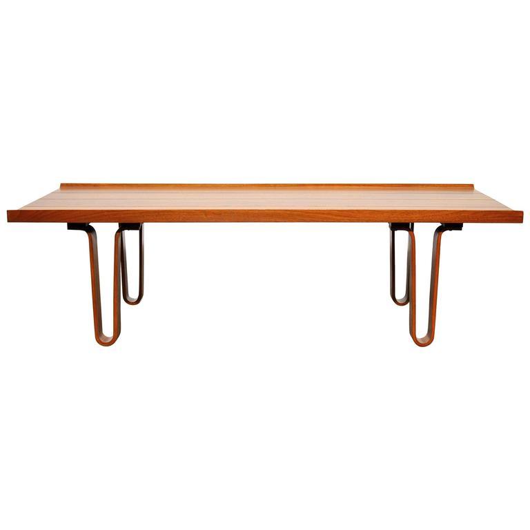 Edward Wormley for Dunbar Coffee Table Bench Model 4699