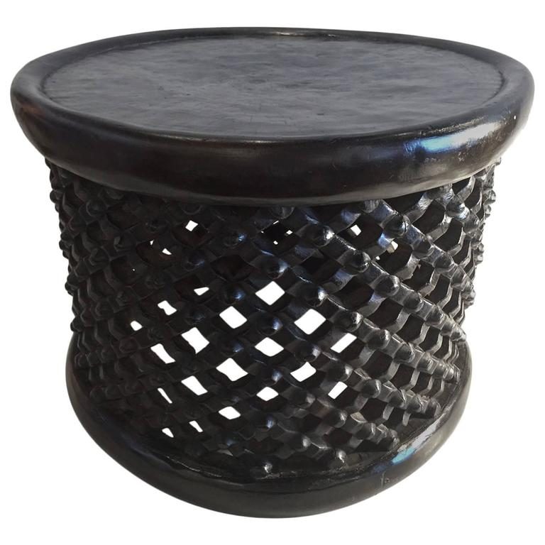 African bamileke tribe spider table stool republic of cameroon at 1stdibs African coffee tables