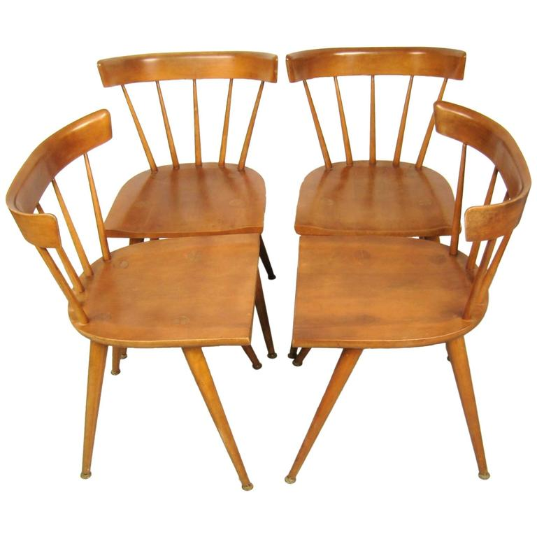 Paul McCobb Dining Chairs for Planner Group, Set of 4 1