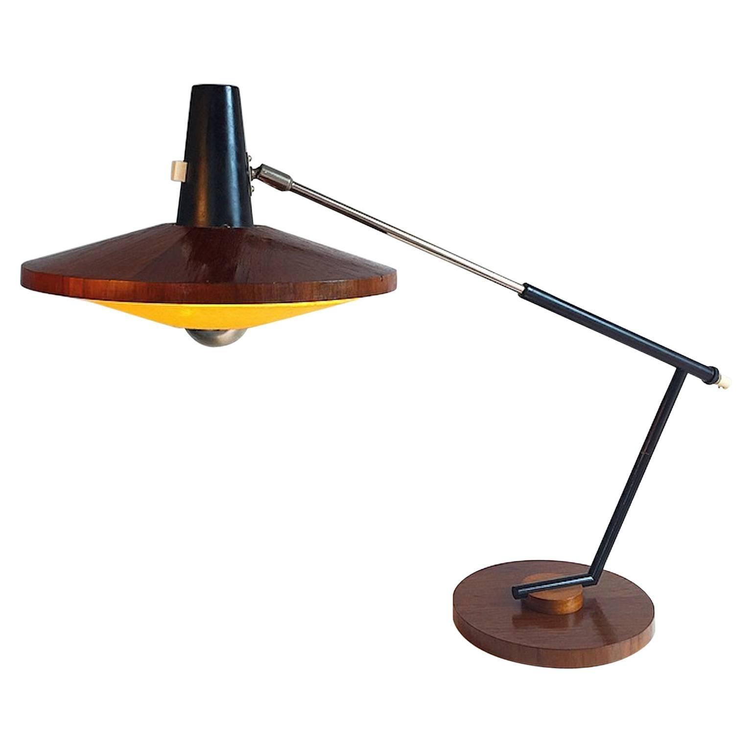 George Frydman mid-Century Temde Desk Lamp Type 30