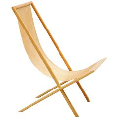 Frits Swart Unique Lounge Chair in Plywood, 1979