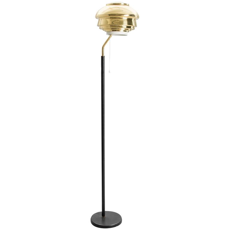 Alvar Aalto A 808 Floor Lamp for Valaistustyö 1