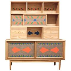 Dean Credenza with Storage Unit by VOLK