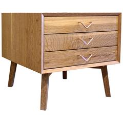 Atlantic Three-Drawer Side Table by Volk