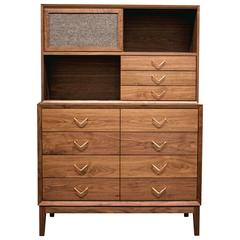 Atlantic Dresser with Hutch by VOLK