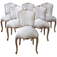 Louis XV Style French Country Dining Chairs