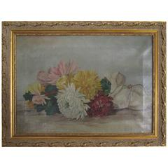 Colorful Late 19th Century Still Life Painting