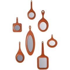 Specchi Mirrors Set Designed by Nestor Perkal for Oscar Maschera