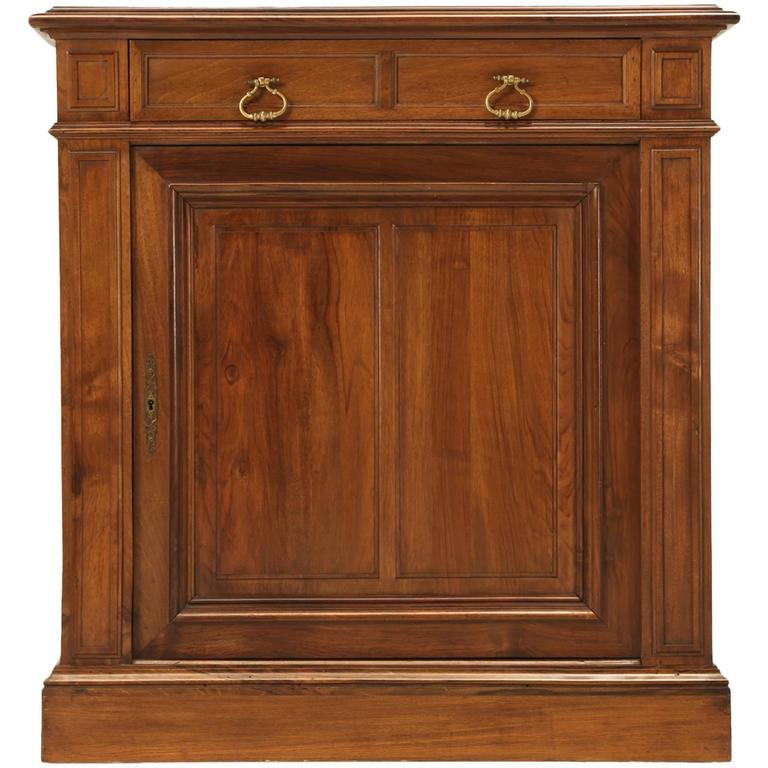 French Walnut Buffet or Cupboard