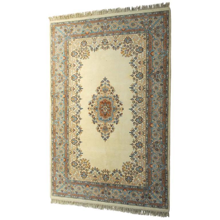 Retro Bedroom Chairs Persian Carpet Bedroom Blue Grey Bedroom Colour Scheme Bench Seat For Bedroom: Vintage Indo Kerman Rug For Sale At 1stdibs