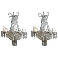 Pair of Vintage Italian Sconces