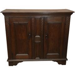 17th Century Oak Cabinet