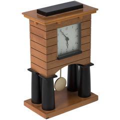 Michael Graves mantel clock for Alessi Spa, Italy circa 1988