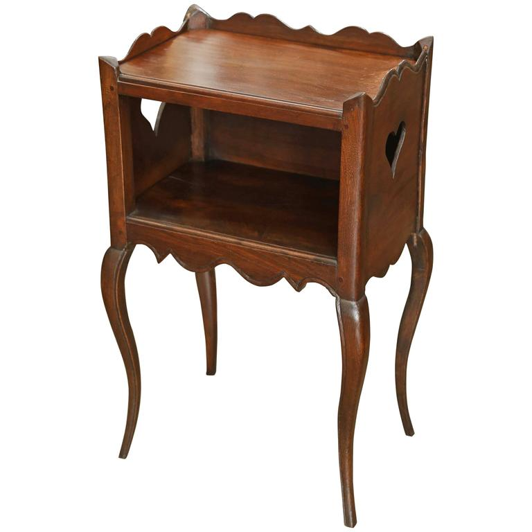 Small French Bedside Table At 1stdibs