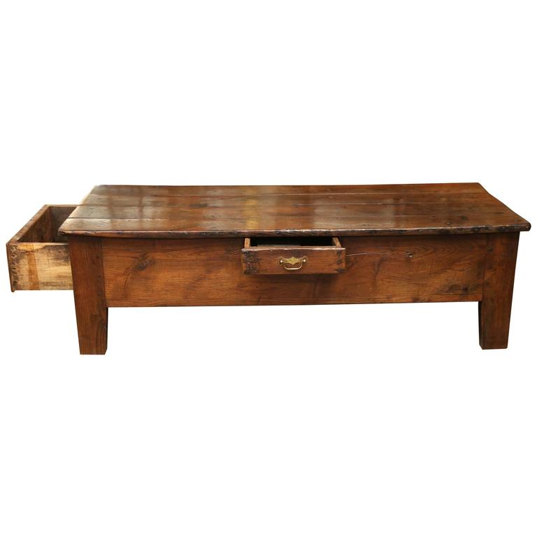 Antique 19th Century Oak Coffee Table At 1stdibs