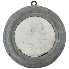 18th Century, Italian Marble Relief Portrait