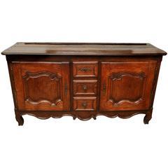 Antique 18th Century Louis XV Oak Buffet