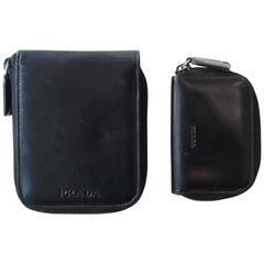 Prada Zip Wallet and Key Case