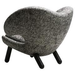 Finn Juhl Pelican Chair Asger Jorn Limited Edition