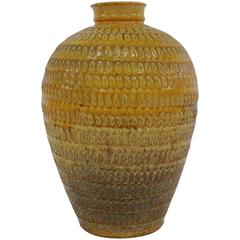 Large Floor Vase by Svend Hammershøi for Herman a Kahler Keramik