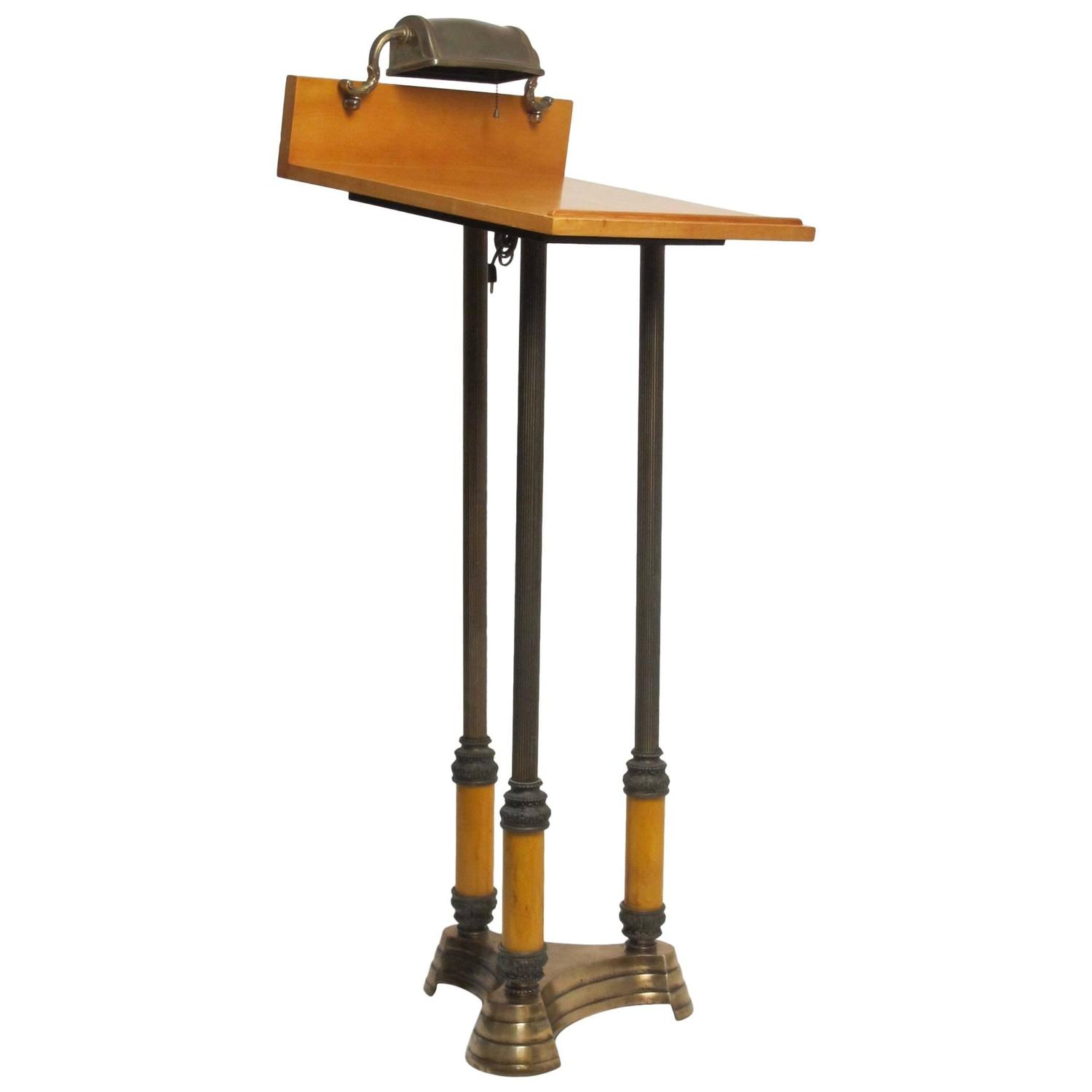 Neoclassical Style Lectern For Sale At 1stdibs