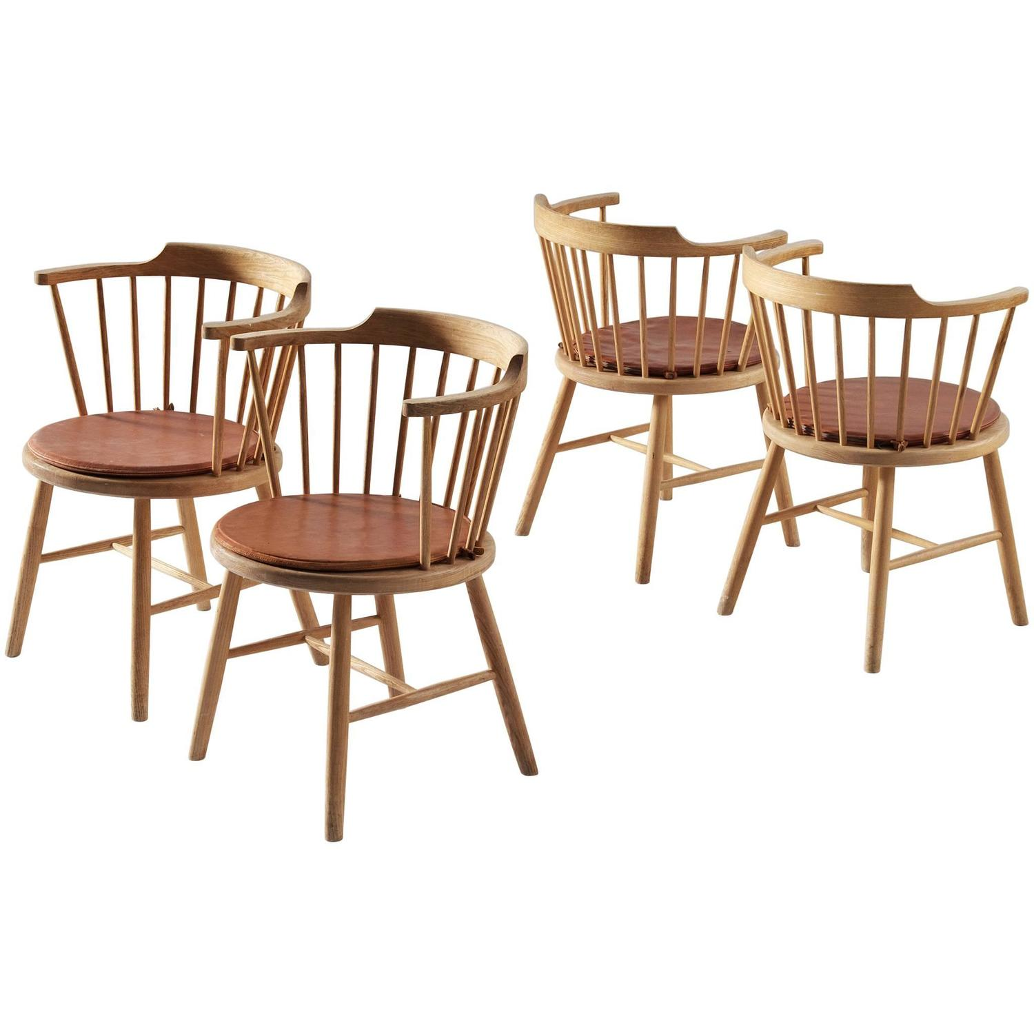 b rge mogensen set of four dining chairs for sale at 1stdibs