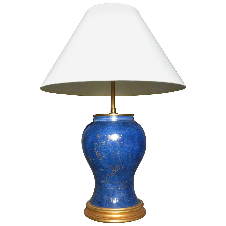 Kangxi Ginger Jar Lamp At 1stdibs