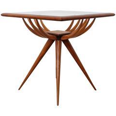 Giuseppe Scapinelli Brazilian Sculptural Side Table
