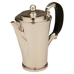 "Georg Jensen ""Pyramid"" Coffee Pot No. 600a by Harald Nielsen"