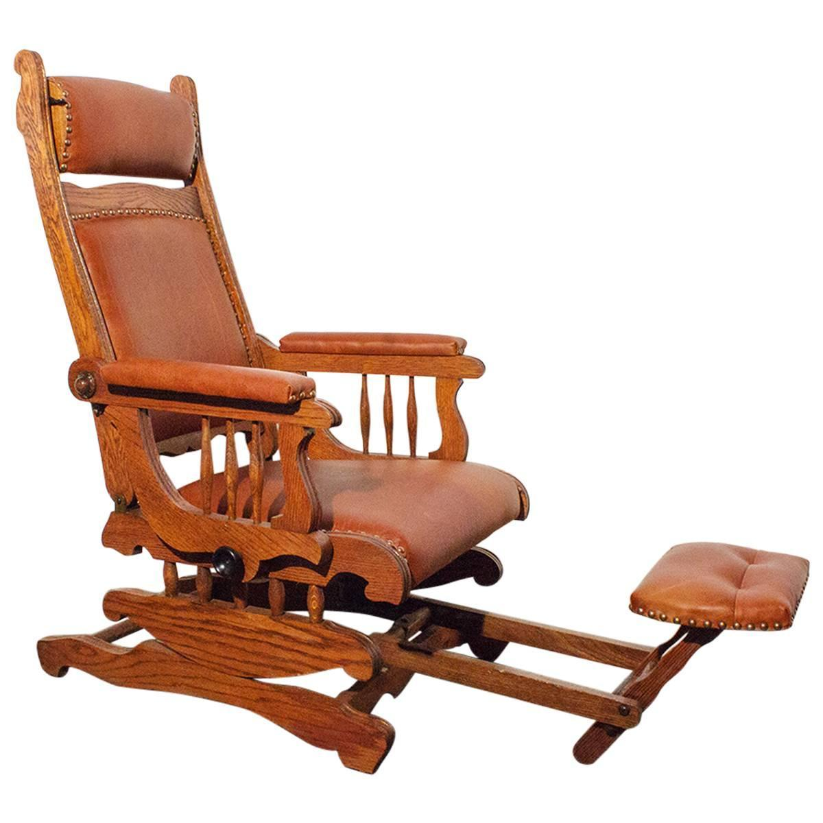 Sensational Victorian Platform Rocker With Foot Rest Circa 1890 At 1Stdibs Beatyapartments Chair Design Images Beatyapartmentscom