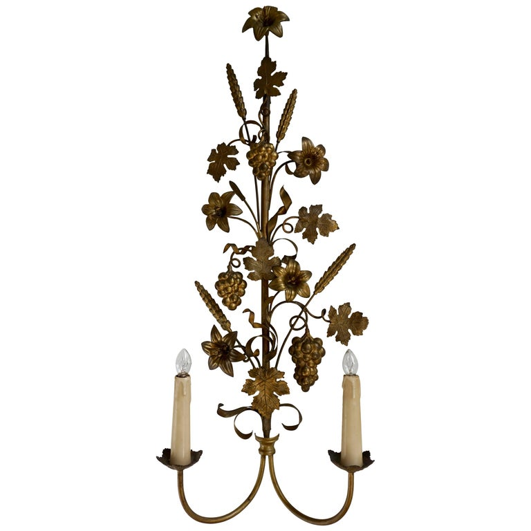 Brass Wall Sconces For Sale
