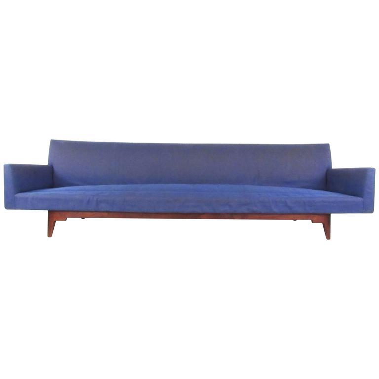 Unique Sofa: Unique Mid-Century Modern Oversized Sofa By Risom