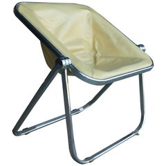Leather Plona Folding Chair