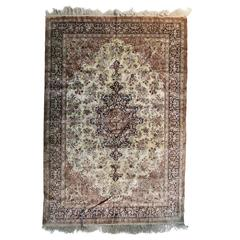 Fine Oriental Silk Carpet