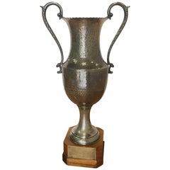 Vintage Trophy on Wooden Base
